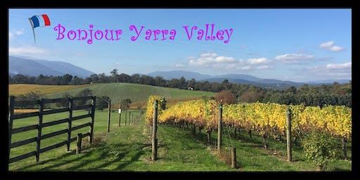 Bonjour Yarra Yalley - Vin et Fromage - Wine Tasting at Morgan Vineyards