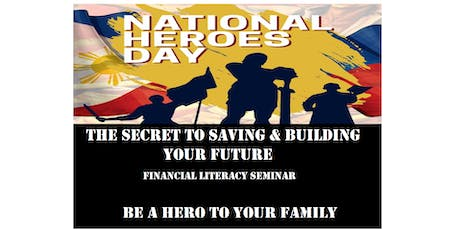 The Secret to Saving & Building Your Future, August 26, HOLIDAY Monday, 2:00PM tickets