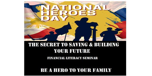 The Secret to Saving & Building Your Future, August 26, HOLIDAY Monday, 2:00PM