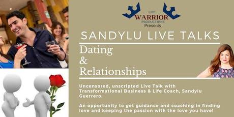 Sandylu Live Talks - Dating & Relationships tickets
