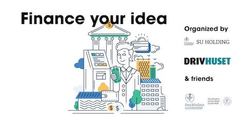 Finance your idea tickets