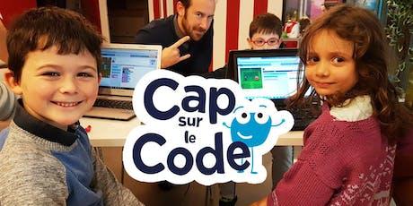 Cap sur le Code ! Nantes Digital Week 2019 billets