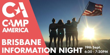 Brisbane - Camp America Info Session tickets