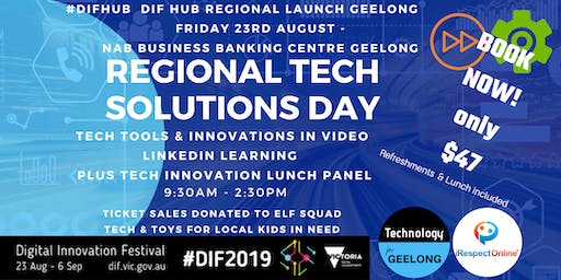Technology for Geelong - DIF HUB Regional Launch & Tech Solutions Day