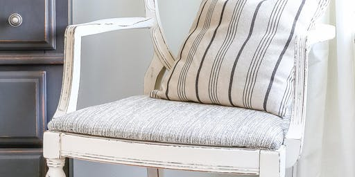 Frame, Fabric, Finish II - Chair Makeover Workshop (Part 2)