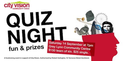 City Vision Quiz Night