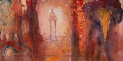 'Approaches to imaginative drawing & watercolour painting' 1-day workshop with Neil Pittaway