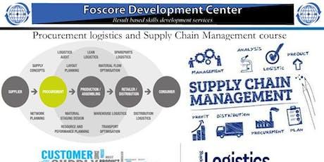 Procurement logistics and Supply Chain Management course tickets