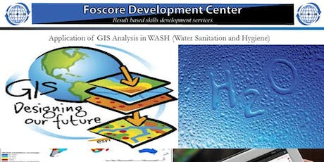 Application of GIS Analysis in WASH (Water Sanitation and Hygiene) Programm tickets