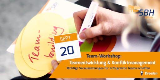 Team-Workshop: Teamentwicklung & Konfliktmanagement