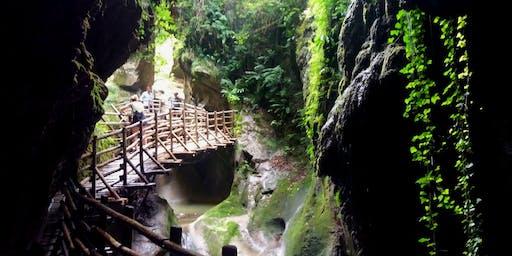 Le Grotte del Caglieron e il sentiero degli Scalpellini