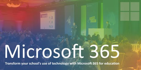 Transform your school's use of technology with Microsoft 365 (PM Workshop) tickets