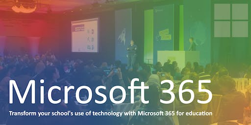 Transform your school's use of technology with Microsoft 365 (PM Workshop)