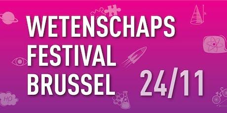 Wetenschapsfestival Brussel 2019 tickets