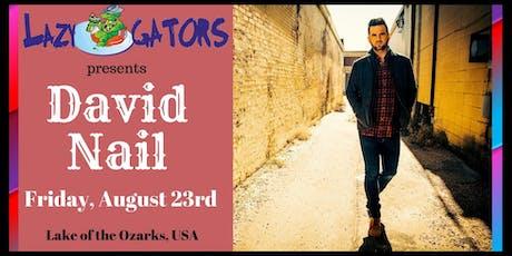 David Nail at Lazy Gators tickets