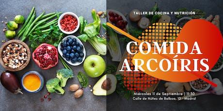 Taller de Cocina y Nutrición. Comida Arcoíris tickets