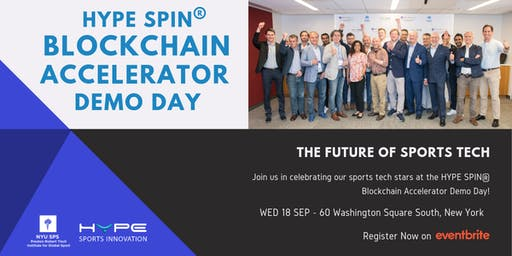 HYPE SPIN® Blockchain Accelerator  Demo Day