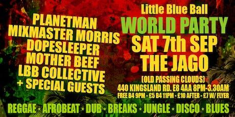 Little Blue Ball - World Party tickets