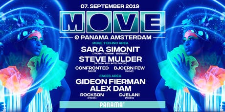 MOVE x United Faces at Panama 07.09.2019 tickets