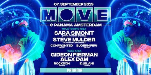 MOVE x United Faces at Panama 07.09.2019
