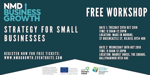 Strategy for Small Businesses - Free Workshop in Ballynahinch