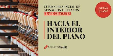 Hacia el Interior del Piano - Clase Gratuita - 29 de Agosto entradas