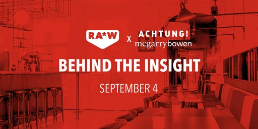 RA*W x ACHTUNG! | Behind The Insight