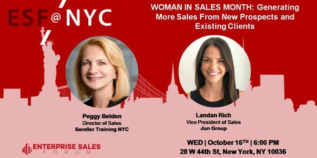 WOMAN IN SALES MONTH: Generating More Sales From Clients & Prospects tickets
