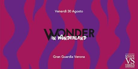 Wonder in Wonderland biglietti