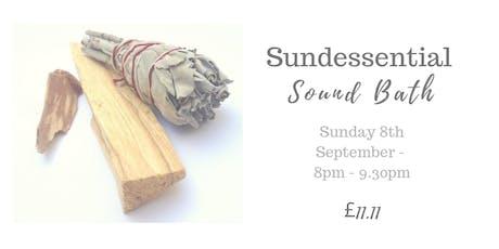 Sundessential Sound Bath tickets