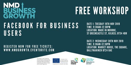 Facebook for Business Users - Free Workshop in Ballynahinch tickets