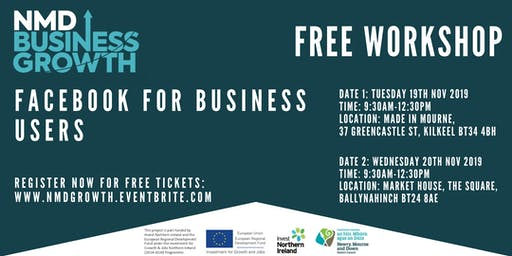 Facebook for Business Users - Free Workshop in Ballynahinch