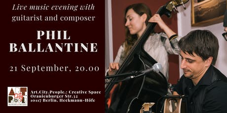 Live Music evening / Guitarist and composer Phil Ballantine Tickets