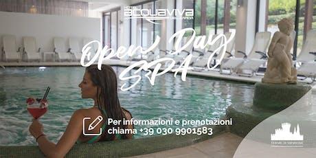 Open Day Spa | Hotel Acquaviva del Garda biglietti