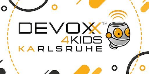 Devoxx4Kids Karlsruhe 19. Oktober 2019