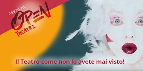 Open Theatre Festival, dal 6 al 10 settembre 2019, Arena Parco Castelli, BS biglietti