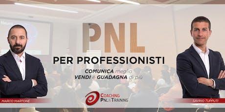 PNL per Professionisti - Napoli biglietti