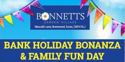 Bonnetts Bank Holiday Bonanza and Family Fun Day