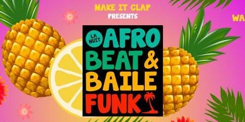 La nuit Afrobeat & Bailé funk feat Jael
