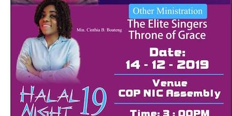 Halal Night '19' tickets