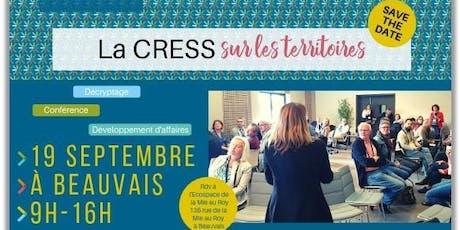 La CRESS sur les territoires #Beauvaisis billets