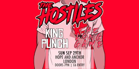 The Hostiles + King Punch + The Long Game tickets