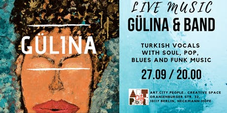 Gülina and band / Turkish vibes in Berlin entradas