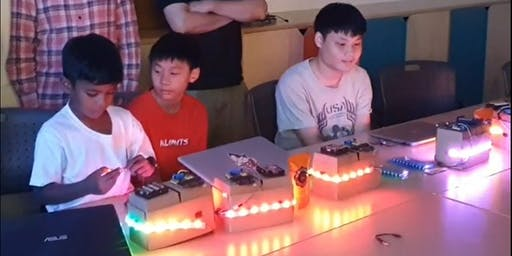 September Holidays Coding with Microbit
