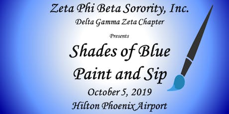 SHADES OF BLUE PAINT & SIP SCHOLARSHIP EVENT tickets