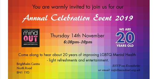 Annual Celebration Event 2019 - 20th Anniversary