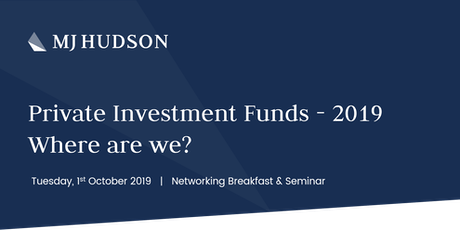 Private Investment Funds: 2019 – Where Are We? tickets