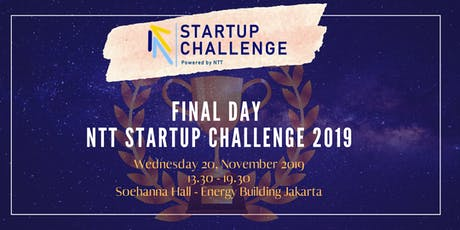 NTT Startup Challenge 2019 Final Day tickets