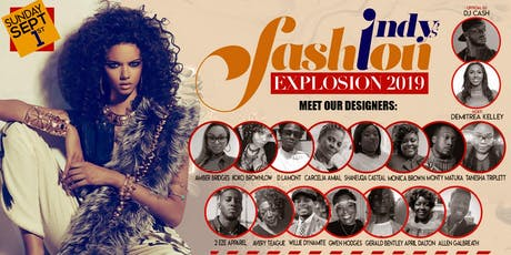 Indy's Fashion Explosion 2019 tickets