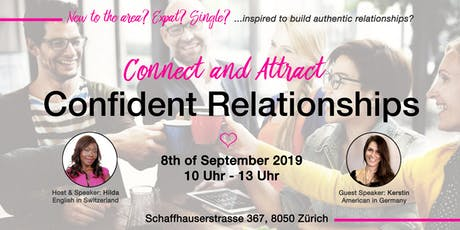 Connect & Attract Confident Relationships tickets